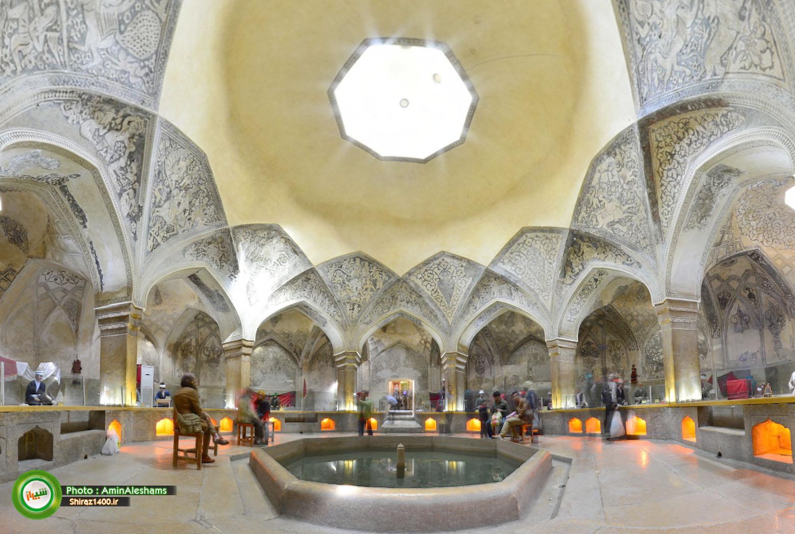 گزارش تصویری : موزه گرمابه ( حمام وکیل ) شیراز – قسمت دوم