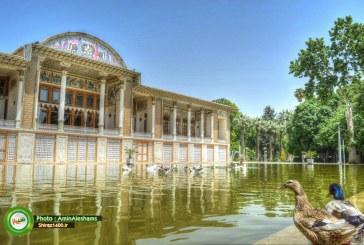اردیبهشت رویایی شیراز : باغ تاریخی عفیف آباد
