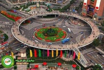وقتی ذوق و سلیقه ای در کار نباشد! مقایسه پل های عابر پیاده شیراز با زیباترین پل های ایران و جهان