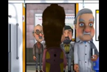 پخش انیمیشن با موضوع فرهنگ عمومی در تلویزیونهای شهری شیراز