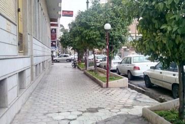 ساماندهی خیابانهای انوری و رودکی