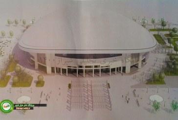 طرح سه بعدی ورزشگاه 6 هزار نفری شیراز
