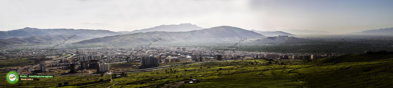 سراسرنمای غرب شیراز