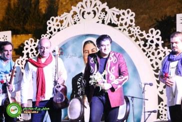 آوای دلنشین سالار عقیلی بر بام هتل بزرگ شیراز