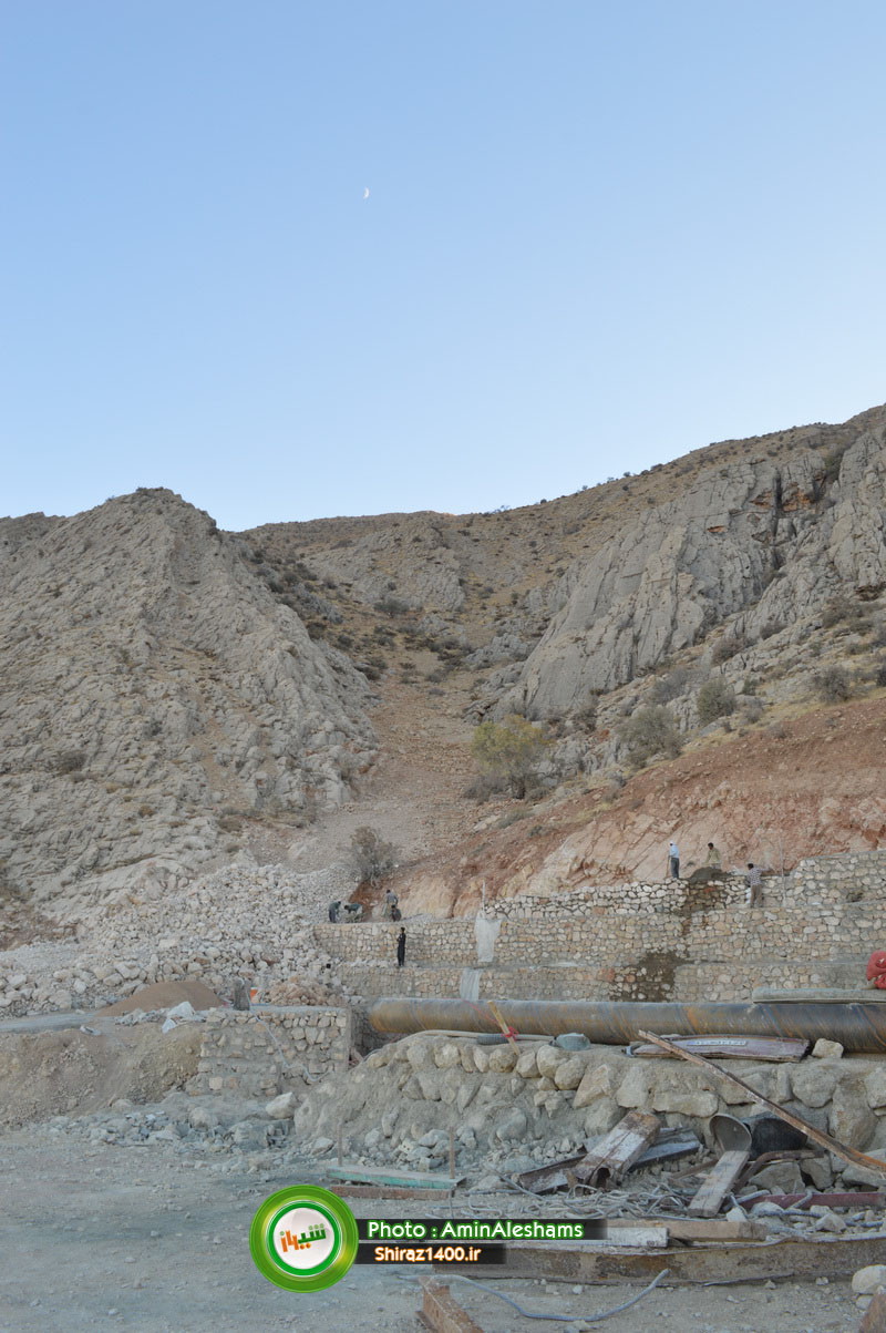 راه پله صخره ای