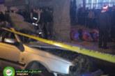عکس : تصادف خودروی پارس 4 نفر را به کام مرگ کشاند