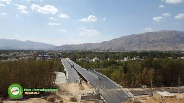 گزارش تصویری : پیشرفت ساخت پل های تمدن و چمران