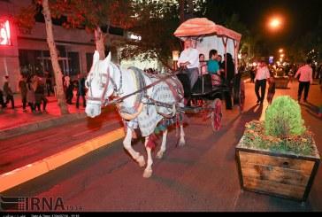 گزارش تصویری : جشنواره ای برای مردم با تبدیل خیابان عفیف آباد به پیاده رو
