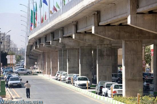 گزارش تصویری : افتتاح پل روگذر نصر – فضیلت