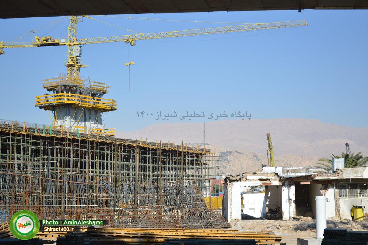 گزارش تصویری : پل کابلی شیراز، نماد شکوفایی فنی مهندسی بومی خطه فارس