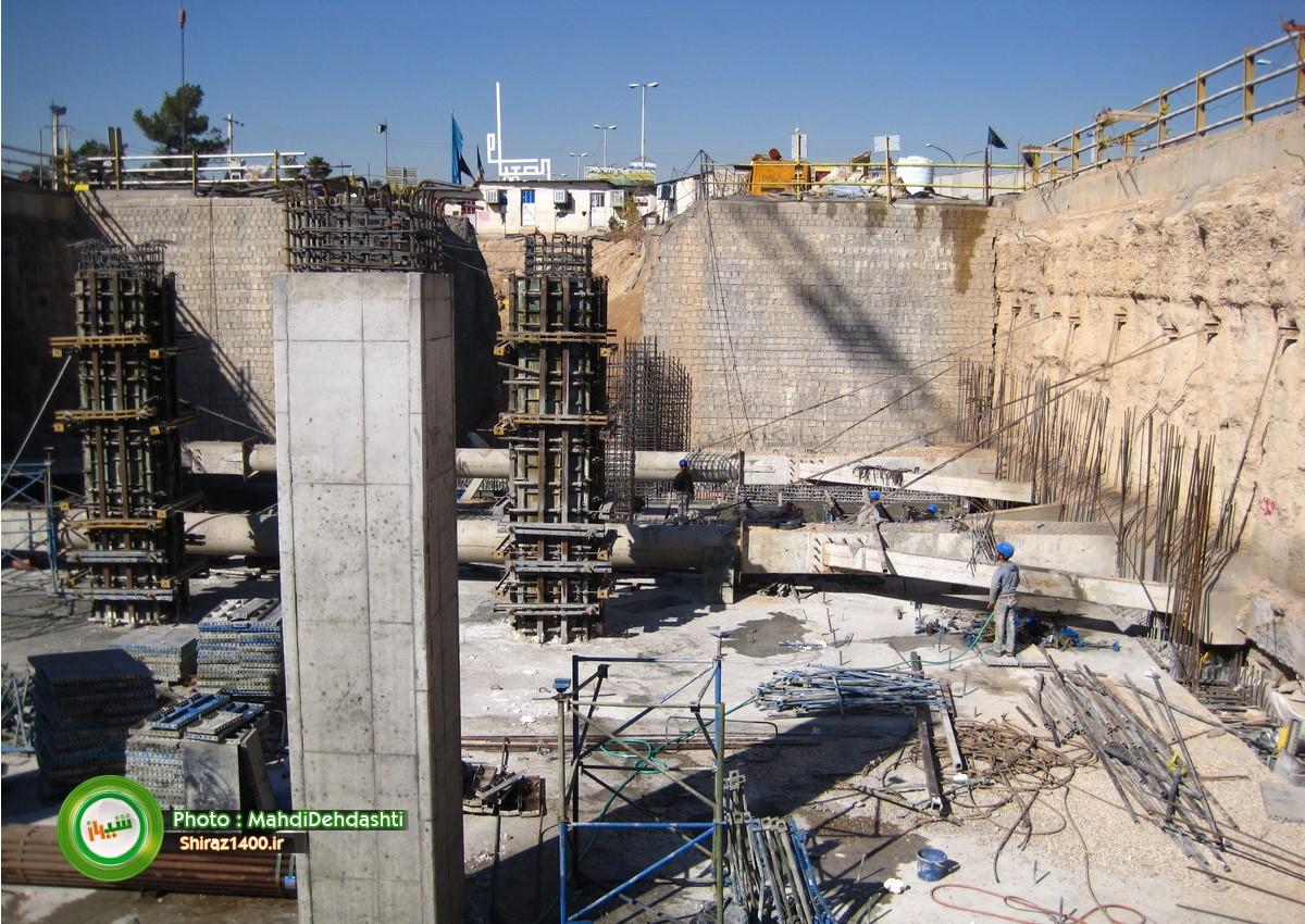 گزارش تصویری: پل کابلی و ایستگاه مترو ولیعصر