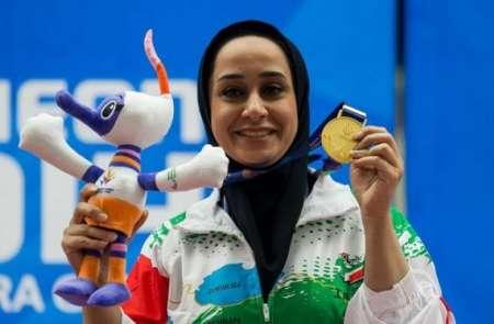 انتخاب ساره جوانمردی به عنوان برترین تیرانداز پارالمپیک