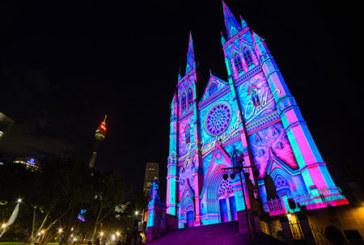 نورپردازیهای بسیار زیبا ساختمانهای سیدنی