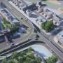 مجموعه پلهای طبقاتی گلشن ( کشن )