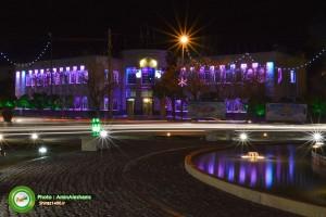 میدان و ساختمان شهرداری شیراز