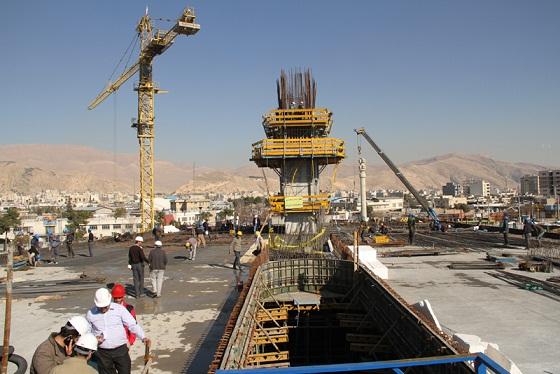 شهردار شیراز : تسریع روند ساخت پل کابلی شیراز