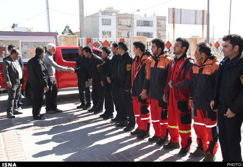 رئیس موسسه حفاظت از حریق استرالیا: توان تجهیزاتی آتشنشانی شیراز فراتر از تصورم بود