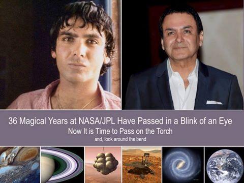 بازنشستگی فیروز نادری پس از ۳۶ سال فعالیت در ناسا