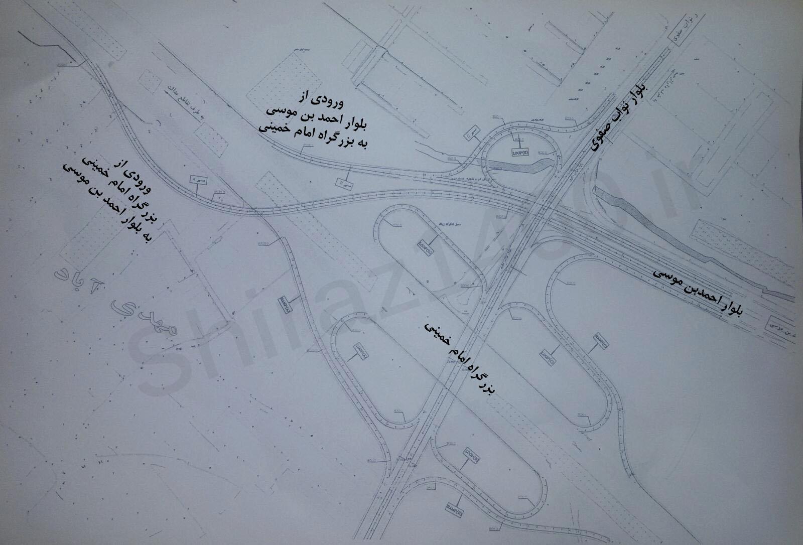 مجموعه پلهای نواب، احمدبن موسی و کمربندی