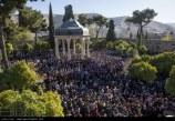 گزارش تصویری : ایرانیان سال جدید را در حافظیه جشن گرفتند