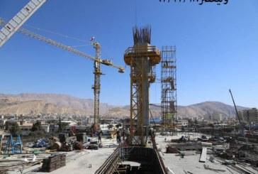 گزارش تصویری : مروری بر برخی از پروژه های عمرانی کلانشهر شیراز