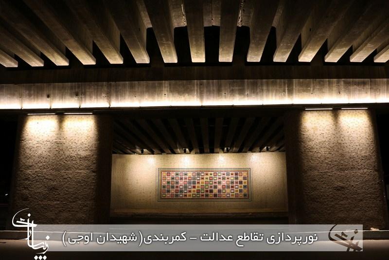 گزارش تصویری : نورپردازی و زیباسازی سطح شهر شیراز