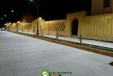 گزارش تصویری : زیباسازی و بهسازی خیابان هجرت
