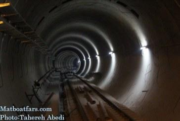 گزارش تصویری : بازدید اعضای شورا از فاز 2 خط یک مترو شیراز
