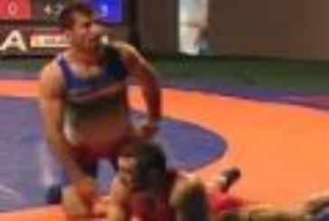 ویدئو : سالتو بارانداز دیدنی امید نوروزی روی حریف روسی