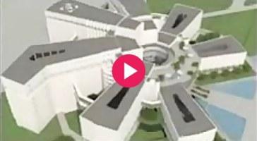 ویدئو : بیمارستان ۱۳۰۰ تخت خوابی نمازی شیراز