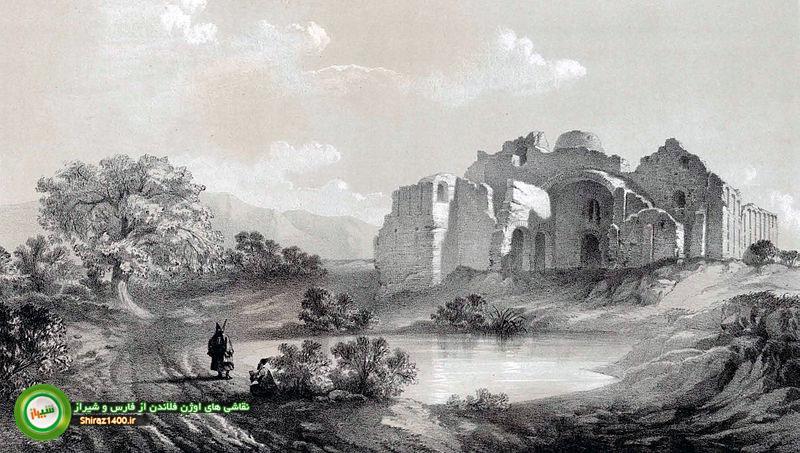خرابههای کاخ اردشیر فیروزآباد