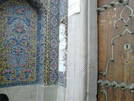 سرقت کاشی های مسجد نصیرالملک