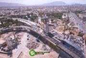 با پیشرفت 78 درصدی، پل کابلی در اسفند امسال افتتاح می شود