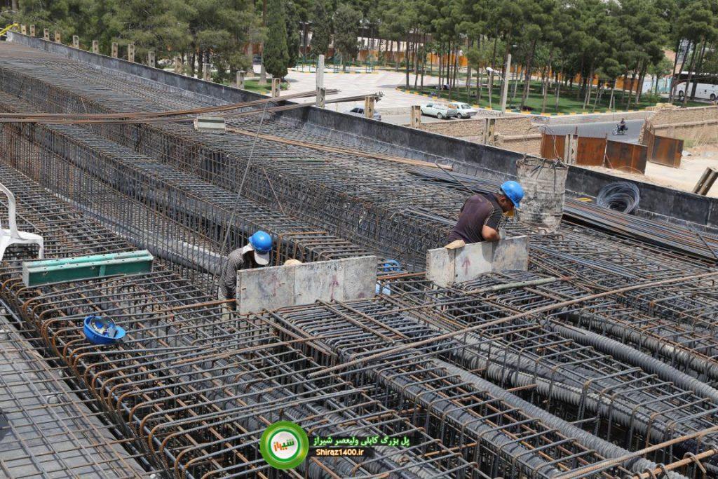 پل کابلی ولیعصر شیراز