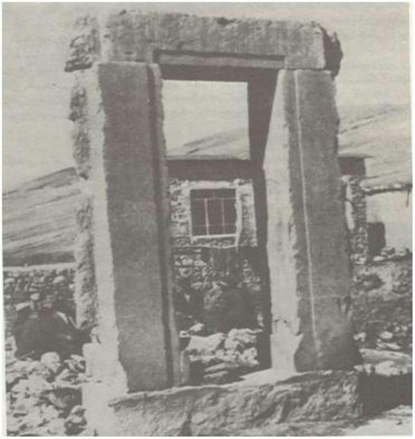 بقایای تخت جمشید در قصرابونصر