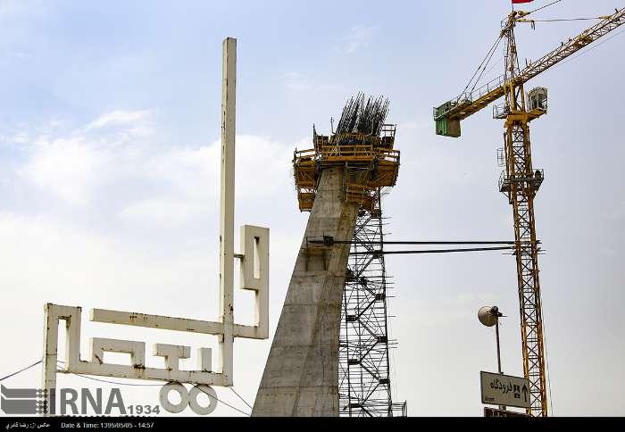 گزارش تصویری: پل کابلی ولیعصر – مرداد ۹۵