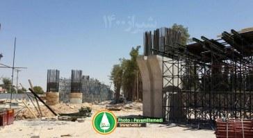 گزارش تصویری : تقاطع طبقاتی گلشن – مرداد ۹۵