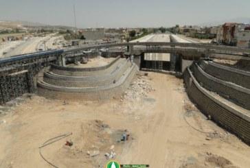 گزارش تصویری : تقاطع ۴ سطحی تخت جمشید / شهریور ۹۵