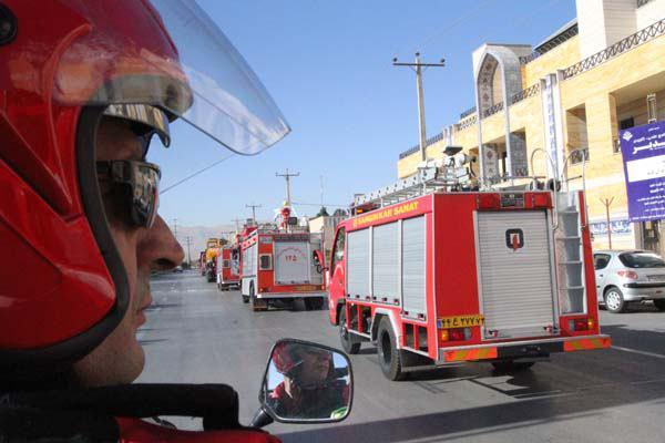 افتتاح نخستین مرکز مانیتورینگ کامل آتشنشانی کشور در شیراز