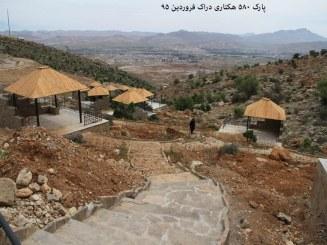 پارک هوشمند ۵۸۰ هکتاری دراک، بوستانی با تمام امکانات برای اقامتی طولانی