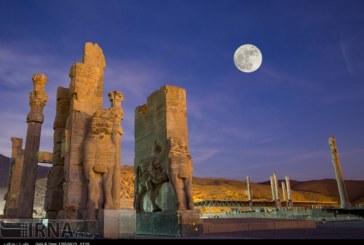 گزارش تصویری : رویداد ابر ماه در تخت جمشید