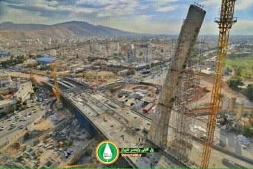 گزارش تصویری : پل کابلی ولیعصر – آذر ۹۵