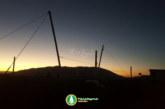 اجرای بزرگترین سازه چادری جنوب کشور در پروژه بام شیراز