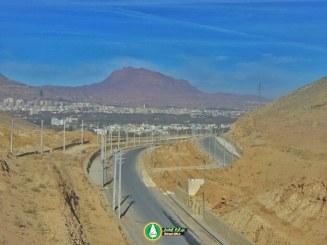 گزارش تصویری : بزرگراه کوهسار – آذر۹۵
