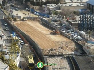 عدم همکاری اداره توزیع برق شیراز، مانعی بر سرراه تکمیل پل کابلی ولیعصر