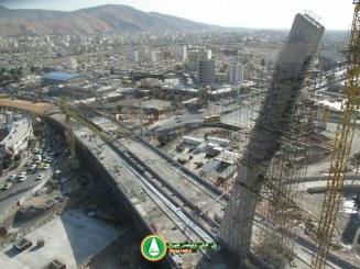 گزارش تصویری : پل کابلی ولیعصر شیراز – دی ماه ۹۵