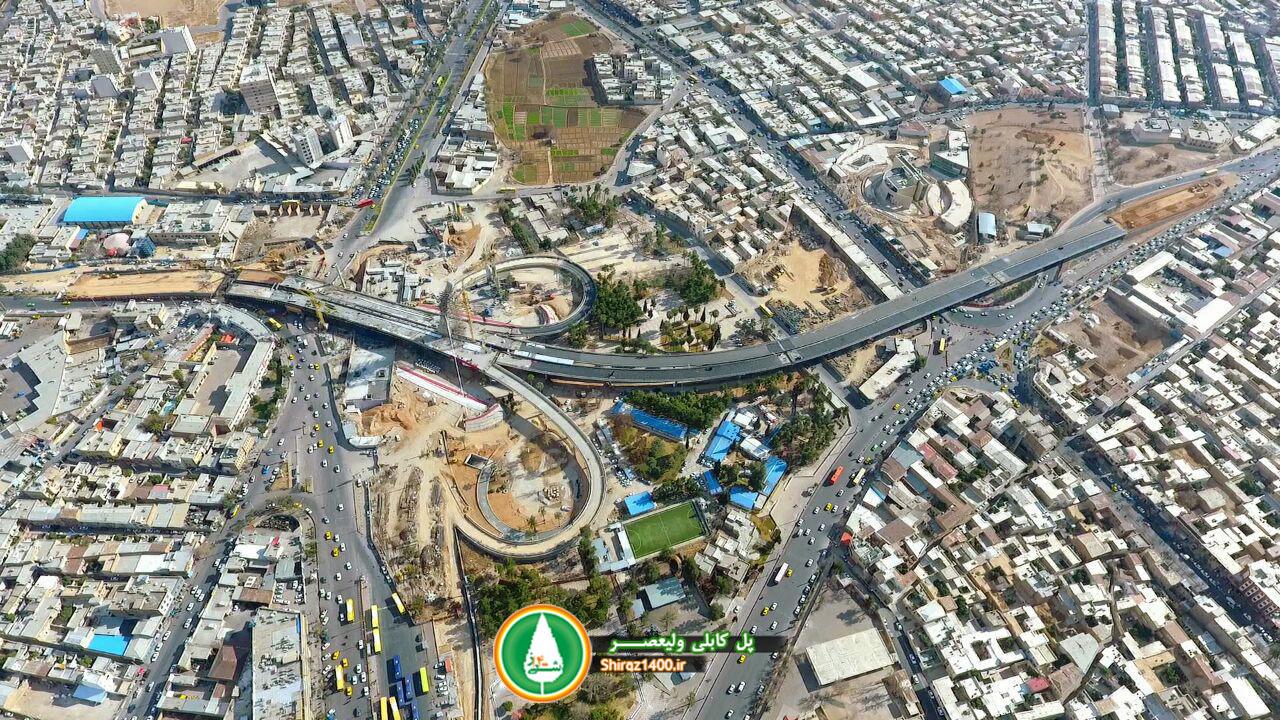 گزارش تصویری : پل کابلی ولیعصر و باغ موزه دفاع مقدس شیراز