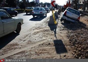شیراز، شهر حفاریهای ناهماهنگ