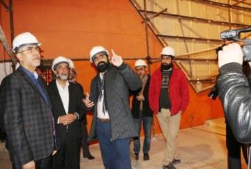 پردیس سینمایی شهر آفتاب شیراز با 8 سالن در مجتمع خلیج فارس آماده افتتاح می شود