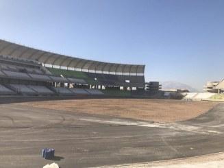 گزارش تصویری : آخرین روند ساخت استادیوم ۵۰ هزار نفری پارس شیراز – اسفند ۹۵